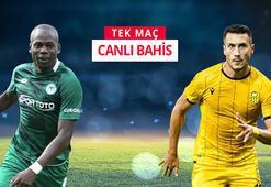 Konyaspor - Yeni Malatyaspor maçı canlı bahis heyecanı Misli.comda