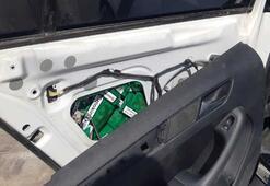 Otomobilinden kaçak pipo tütünü çıkan şüpheli tutuklandı