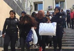 9u kadın 35 kişi Emlak dolandırıcıları adliyede