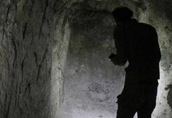 Rasulayn ilçesinde teröristlerin kazdığı tünel görüntülendi