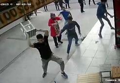 İzmirde dehşet anları Karı-kocanın iş yerine böyle saldırdılar