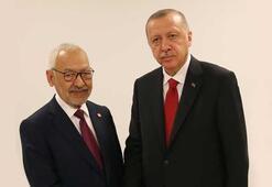 Cumhurbaşkanı Erdoğan, Gannuşiyi kabul etti