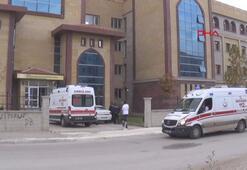 Okulun 2inci katından atlayan genç kız, yaralandı