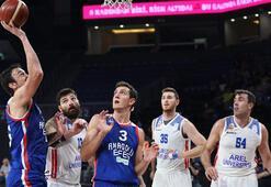 Anadolu Efes-Arel Üniversitesi Büyükçekmece Basketbol: 109-69