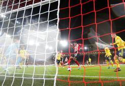 Arsenal 5 maç sonra yenildi