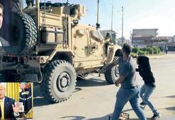 Petrol bölgesine Amerikan askeri