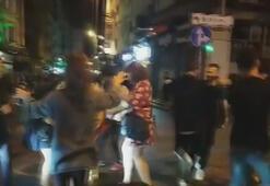 Eğlence değil, işkence Yol ortasında böyle dans ettiler