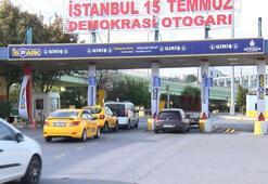 Otogarda taksicilerin tartışma yaratan park ücreti talebi