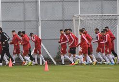 Sivassporda Antalyaspor maçı hazırlıkları