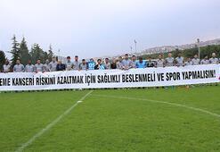 Trabzonspordan meme kanserinde farkındalık mesajı