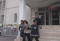 Hırsızlık hükümlüsü 2 kadın, saklandıkları evde yakalandı