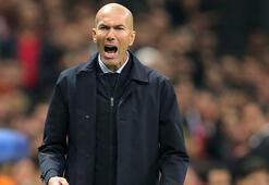Zidane: Courtois ilk yarıda bizi kurtardı