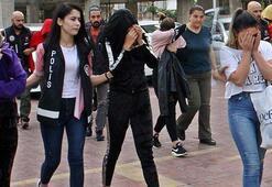 Alanya'da fuhuş baskını İkisi küçük yaşta 4 kadın