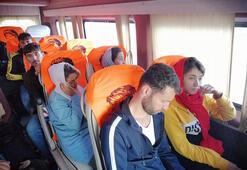 Çanakkalede 35 kaçak göçmen yakalandı
