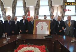 TFF Yönetiminden Vali Yerlikayaya ziyaret