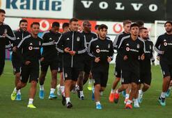 Beşiktaşta 2 isim takımdan ayrı çalıştı