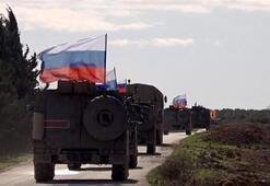 Rusya, Suriyenin kuzeyinde ilk devriyesini yaptı