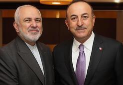 Dışişleri Bakanı Çavuşoğlu, İranlı mevkidaşı Zarif ile bir araya geldi