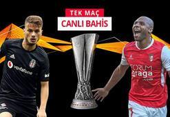 Beşiktaş - Braga canlı bahis heyecanı Misli.comda