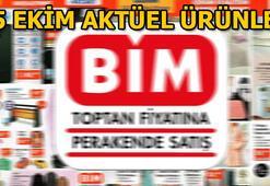 BİM aktüel ürünler kataloğunda hangi ürünler yer alıyor 25 Ekim BİM aktüel ürünler kataloğu