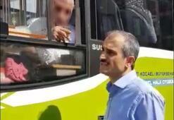 Belediye Başkanından, duraktaki yolcuyu almayan sürücüye tepki