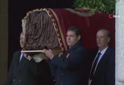 İspanya'da diktatör Franco'nun mezarı nakledildi