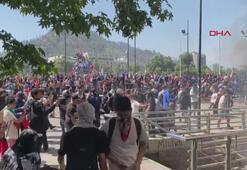 Şilideki protestolar devam ediyor