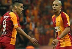 Galatasarayda Falcao ve Feghouliye özel program