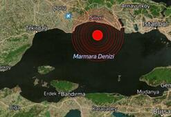 Son dakika İstanbulda deprem...