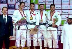 Milli judocu Bilal Çiloğludan altın madalya