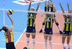 Galatasaray HDI Sigorta, Fenerbahçe Opeti yendi
