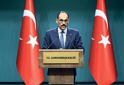 Cumhurbaşkanlığı Sözcüsü Kalın: YPG/PKK, ABD'ye şantaj yapmak istiyor