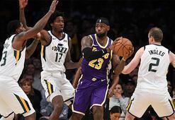 Los Angeles Lakerstan ilk galibiyet: 95-86