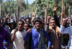 Etiyopyadaki gösterilerde 67 kişi öldü