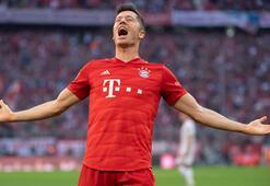 Bayern kazandı, Lewandowski rekor kırdı