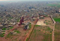 PYD/YPG tünel ve hendek kazmaya devam ediyor