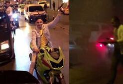 Asker eğlencelerinde magandalar trafikte havaya ateş açtı