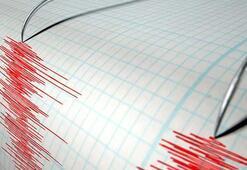 Çanakkalede korkutan deprem Büyüklüğü...
