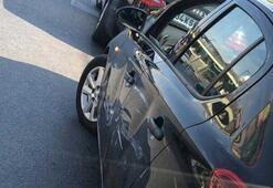 Trafik magandası üniversiteliye dehşeti yaşattı