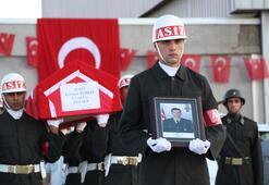 Şehit Erdoğan Türkel için tören