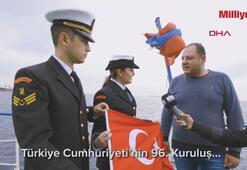Boğazdan geçen tüm gemilere bayrak dağıtılacak