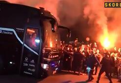 Beşiktaşa coşkulu karşılama
