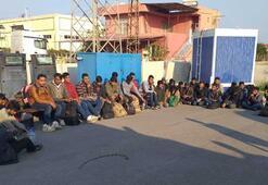 Adanada 81 düzensiz göçmen yakalandı