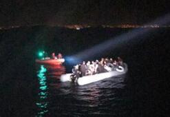 Bodrum açıklarında 52 kaçak göçmen yakalandı