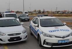 Plakasız sürücü polisten kaçtı Böyle yakalandı