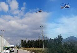Helikopterli denetim Ceza yağdı