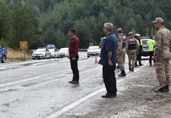 Zırhlı askeri araç devrildi: 4 yaralı