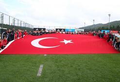 Beşiktaşta Cumhuriyet Bayramı coşkusu