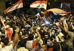 Irakta gösterilere öğrenciler de katıldı