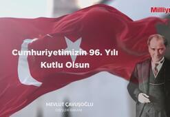 Bakan Çavuşoğlundan 29 Ekim paylaşımı